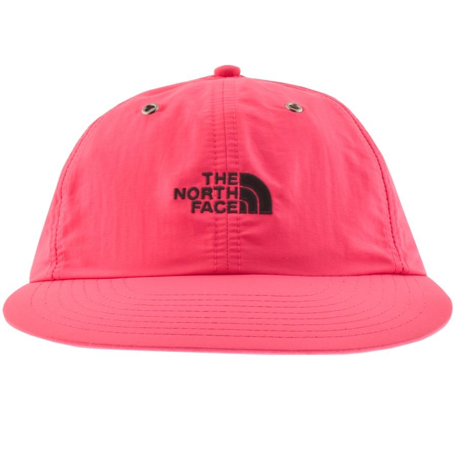 da473adc7 Very Goods | The North Face Throwback Tech Baseball Cap Pink | Mainline  Menswear