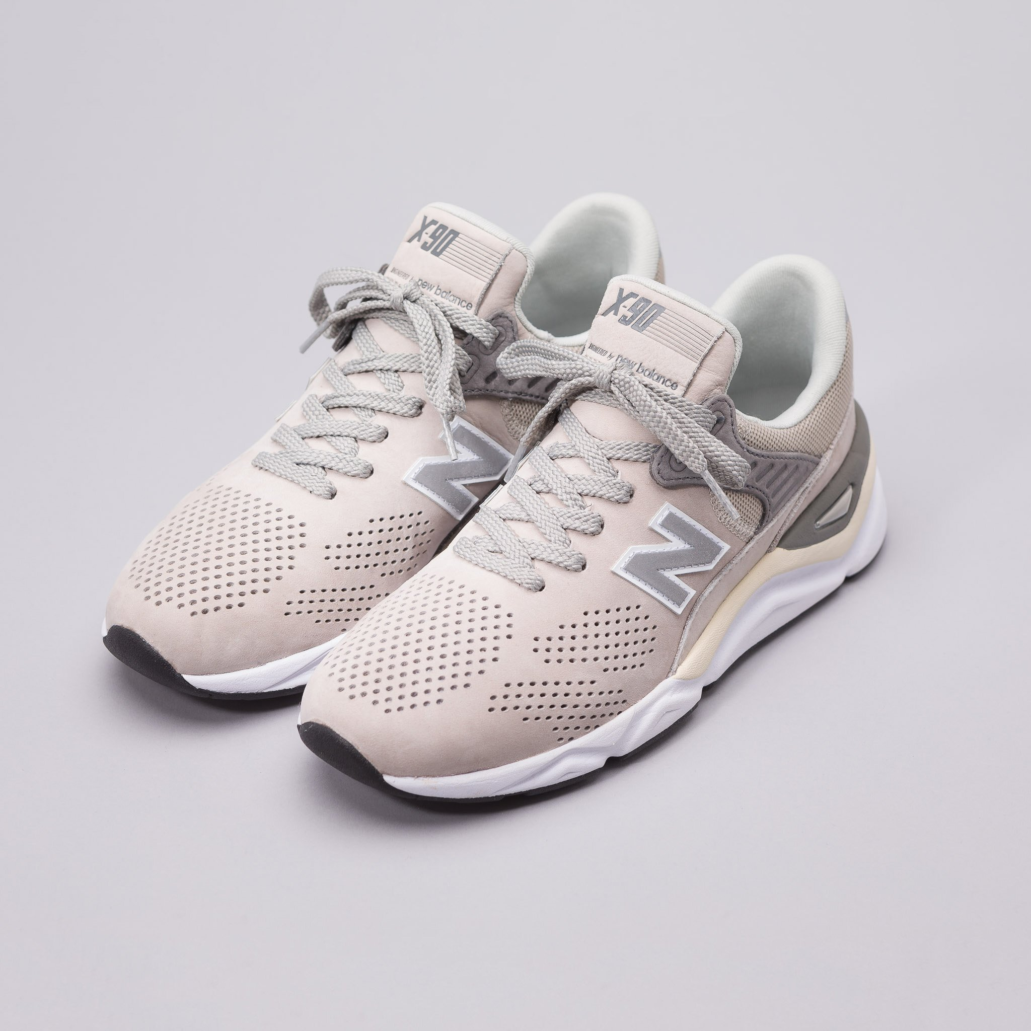 New Balance X-90 Grey/ White