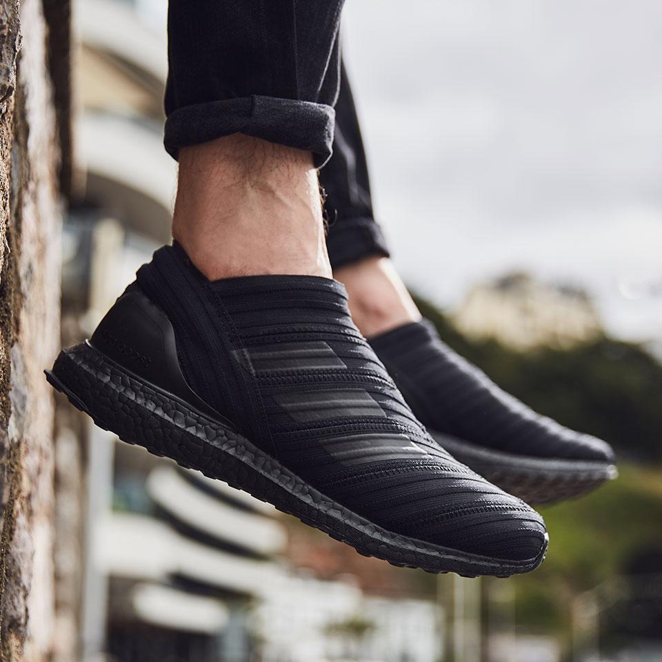 reputable site outlet online fashion adidas Nemeziz Tango 17+ 360 Agility TR Ultraboost - Mens Boots - Street -  CG3657 - Core Black