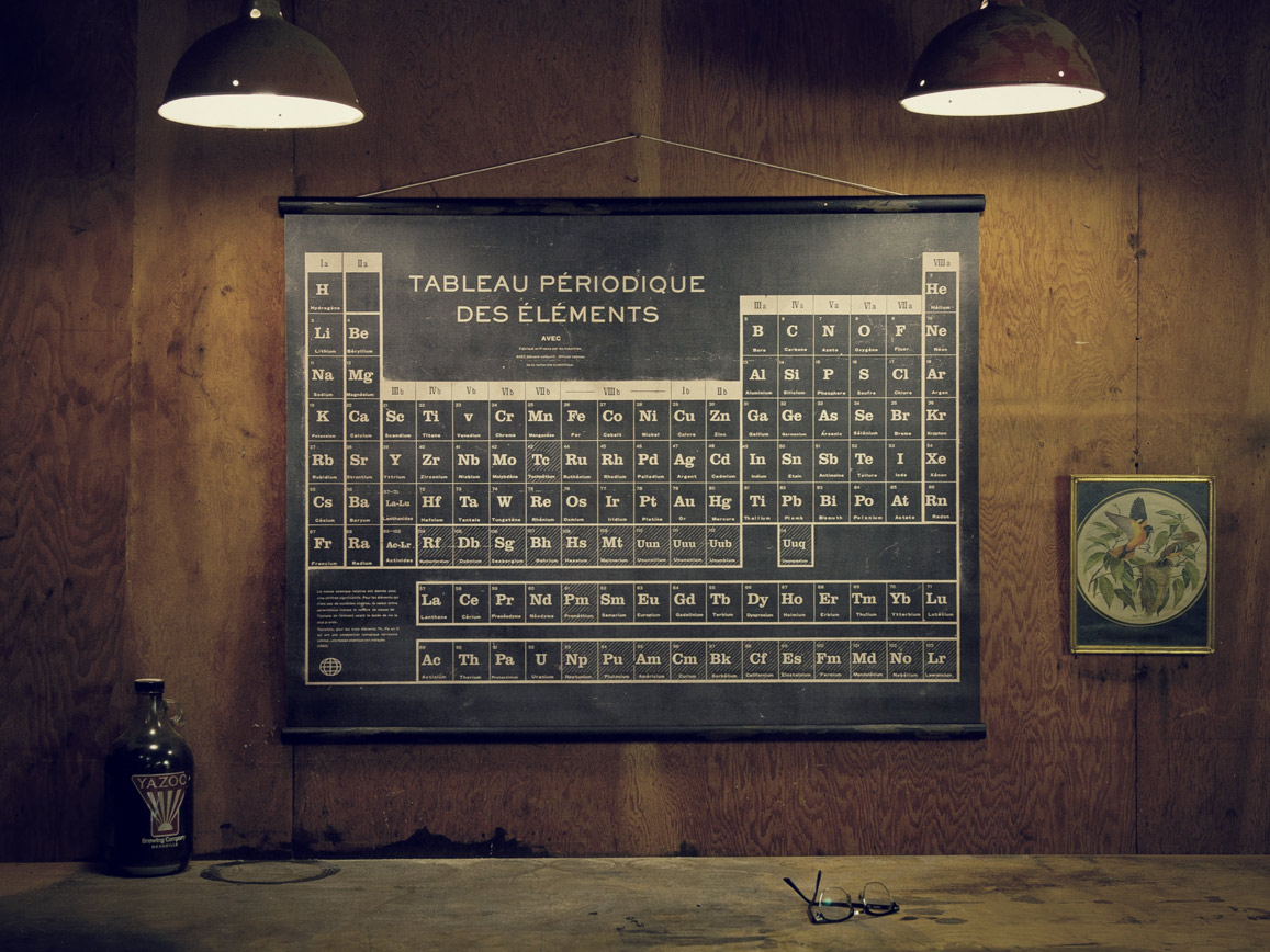 Very goods french periodic table sideshow sign co urtaz Image collections