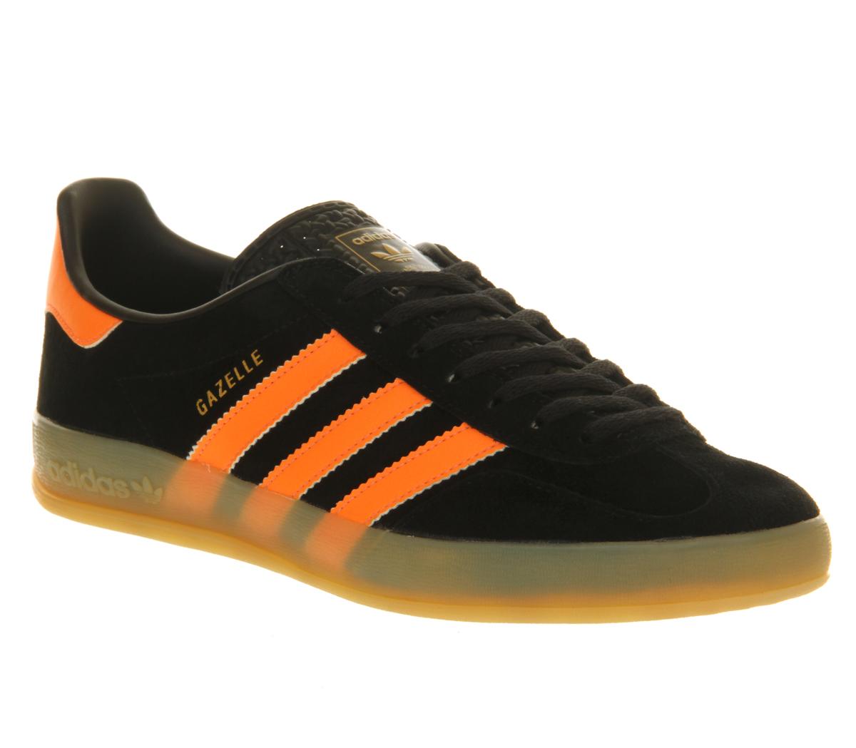 Adidas Gazelle Indoor Black Zest His trainers