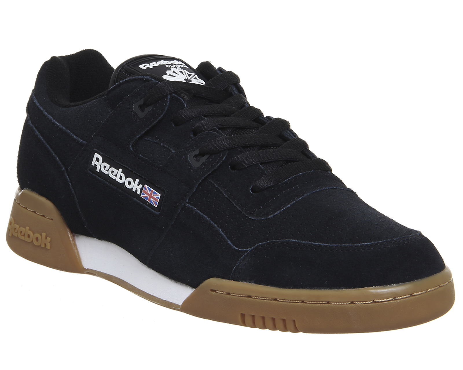 Reebok Workout Plus Black Gum Earth His trainers