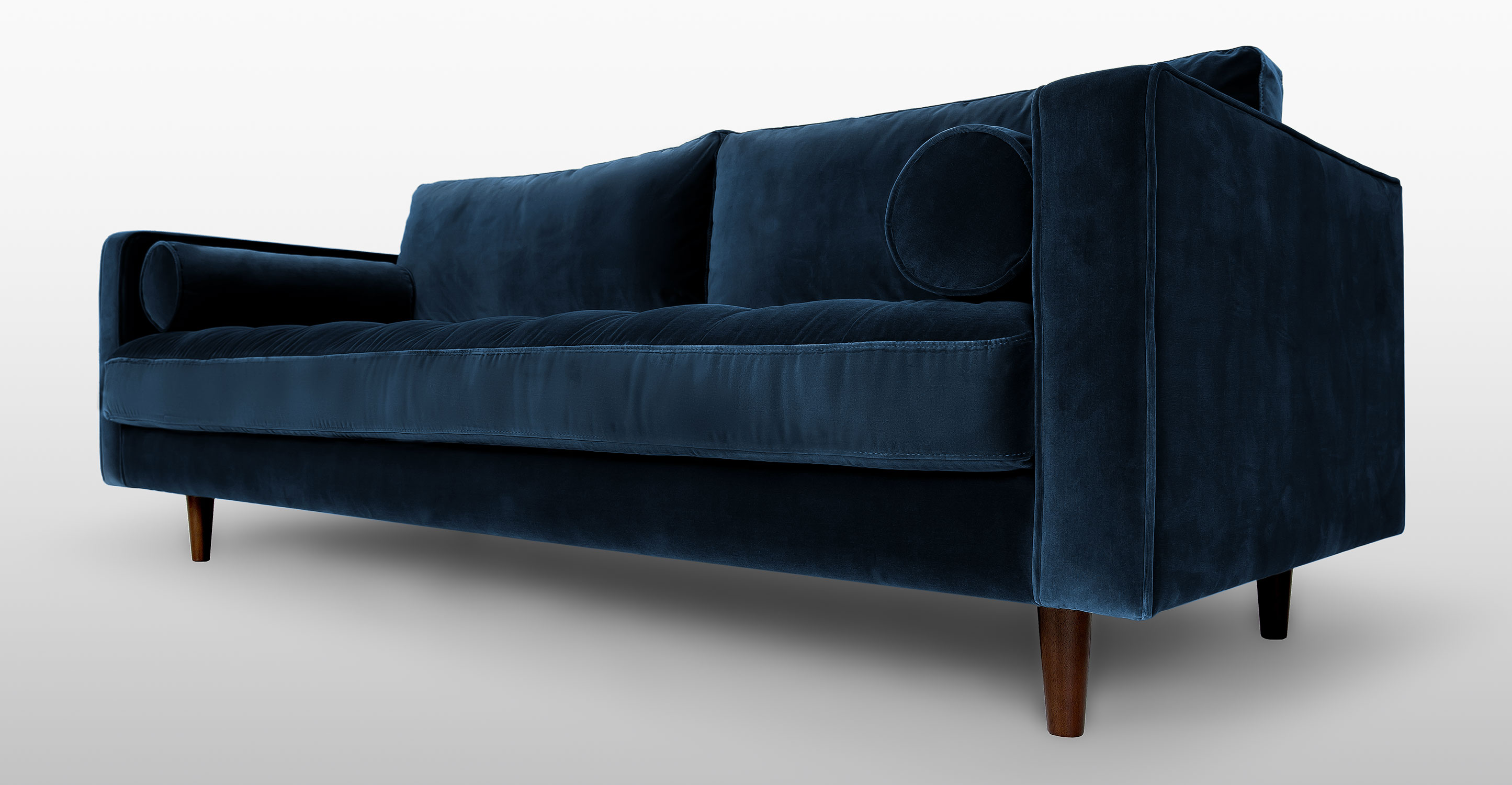 Very Goods Sven Cascadia Blue Sofa Sofas Article Modern Mid