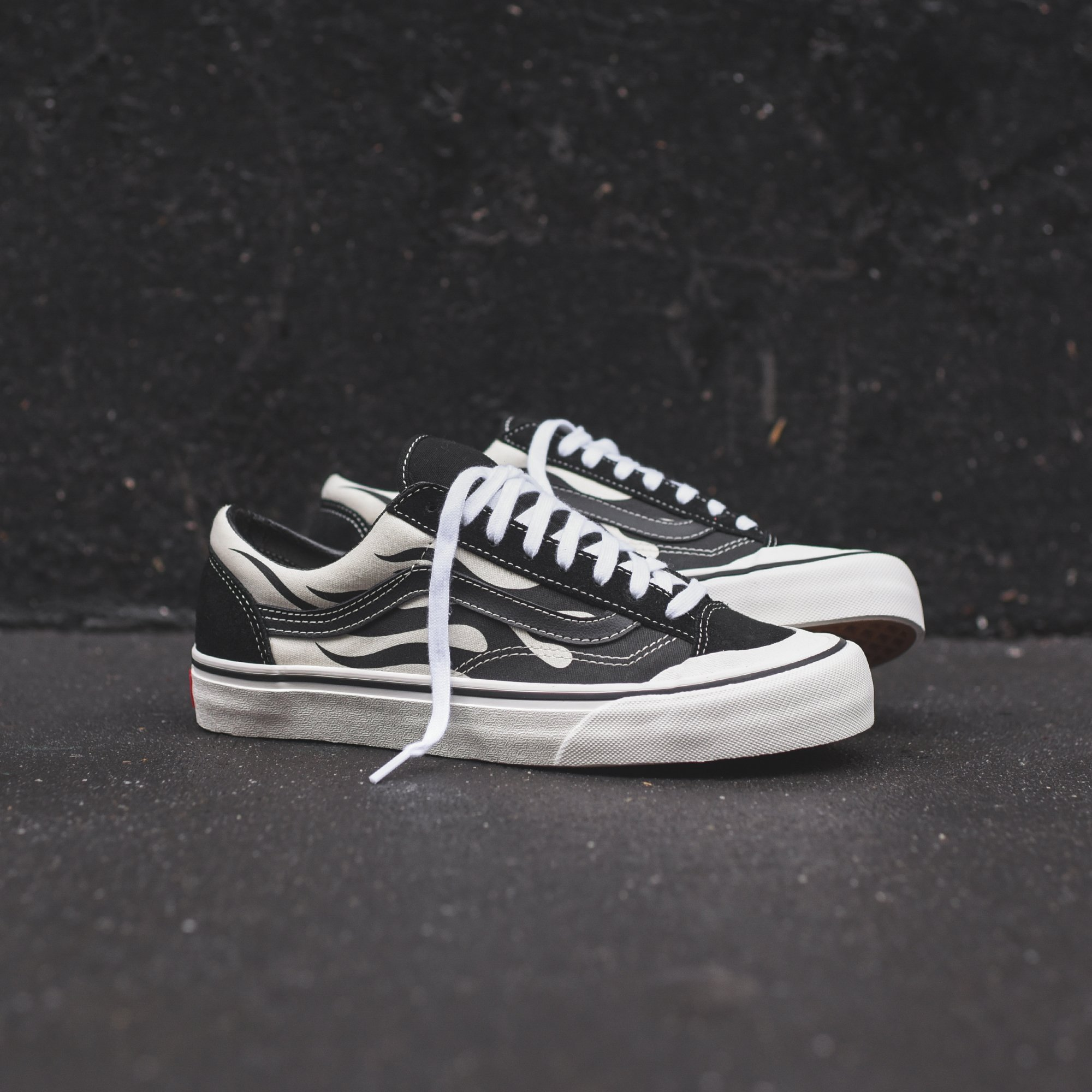 popular design shop for original dirt cheap Vans Style 36 SF - Flame / Black – Kith