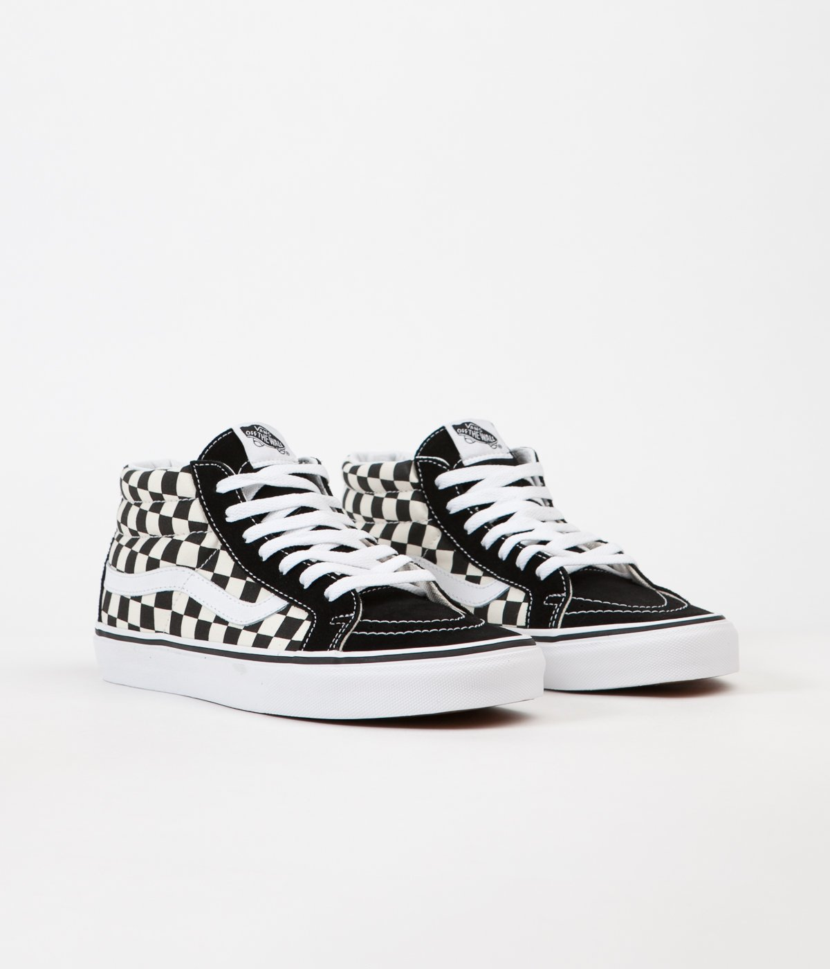new varieties search for genuine look for Very Goods | Vans Sk8-Mid Reissue Shoes - Checkerboard ...