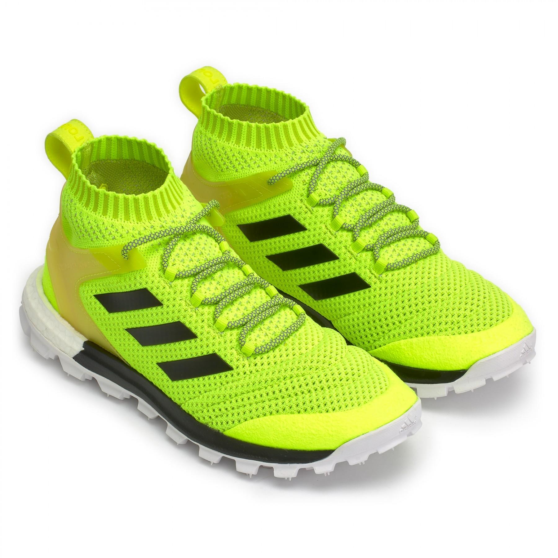 size 40 b58f7 8ba43 Very Goods  Gosha Rubchinskiy x adidas Copa PrimeKnit Mid Sneaker (Yellow)