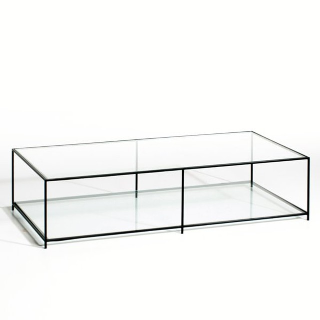 Very Goods | Sybil Rectangular Tempered Glass Coffee Table Am.Pm. | La  Redoute