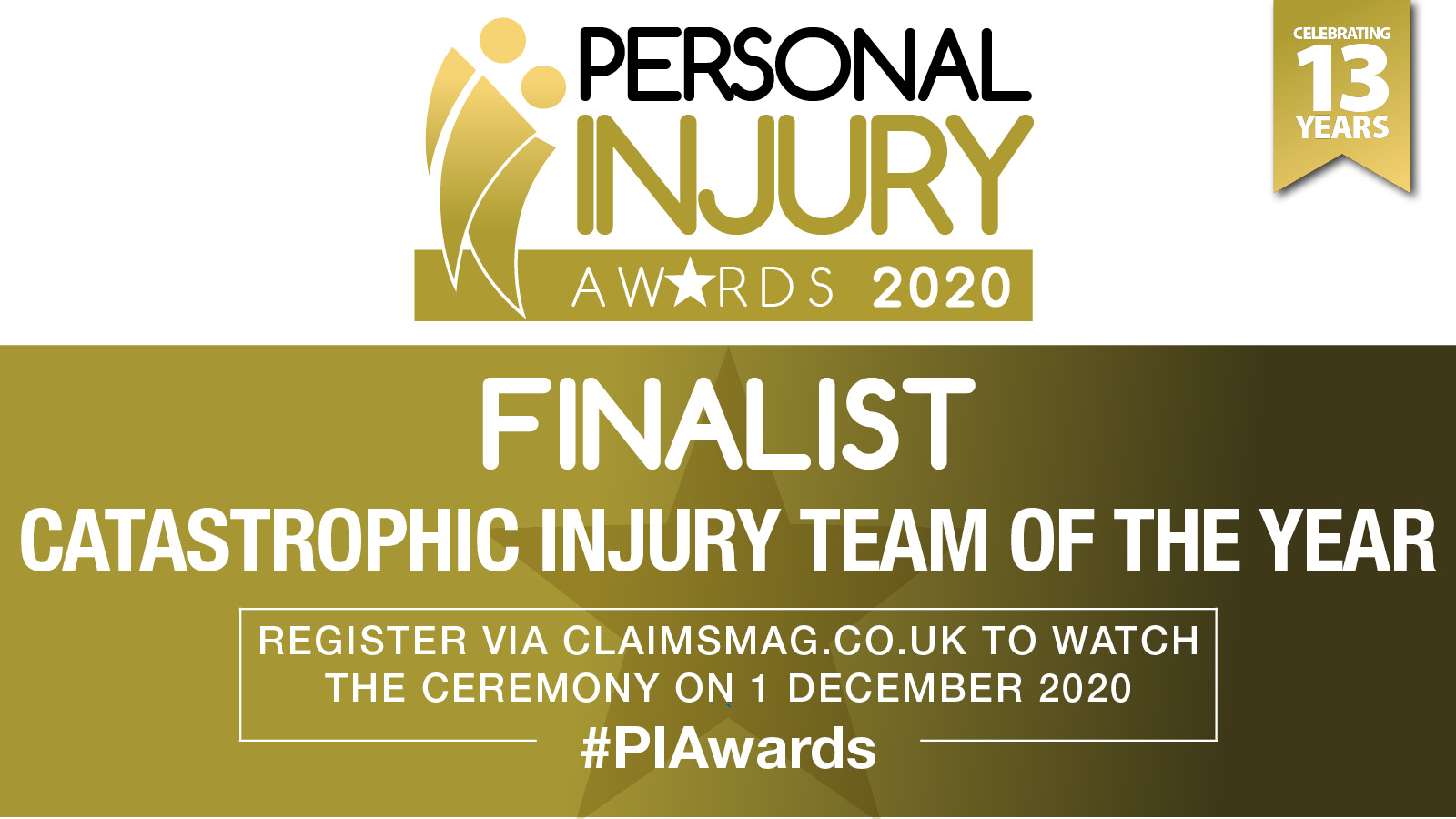 Catastrophic Injury Team of the Year 2020