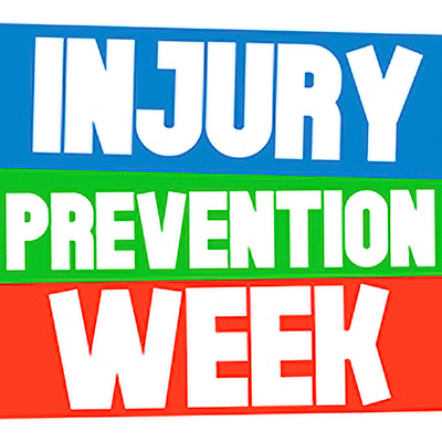 Injury Prevention Week 2021