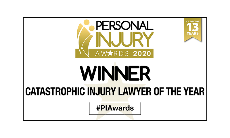 Catastrophic Injury Lawyer of the Year, Personal Injury Awards 2020