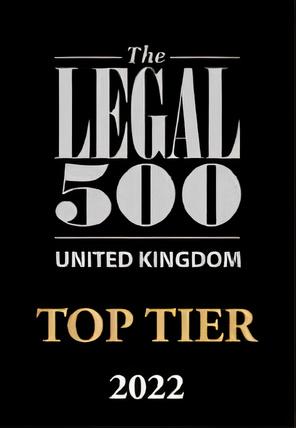 Legal 500 2020 Top Tier