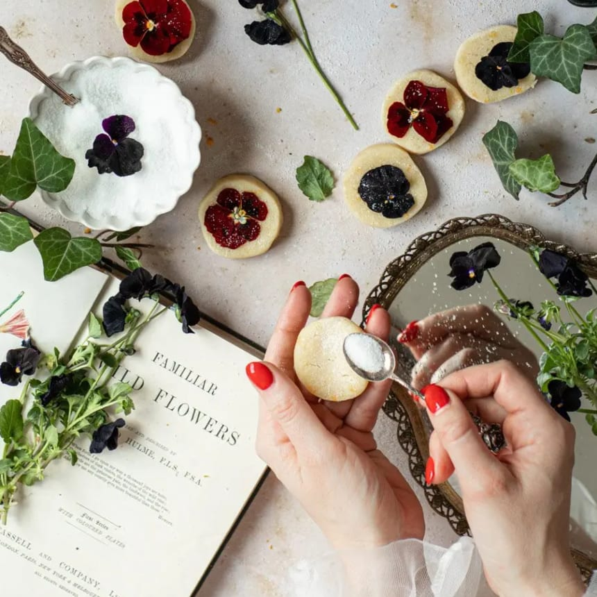 Edible Flowers Recipes