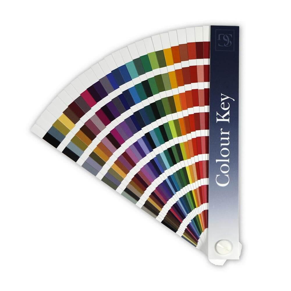 Kľúč na určovanie farieb