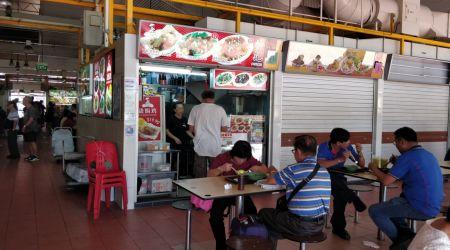 Hawker Corner Food Stall Spacious