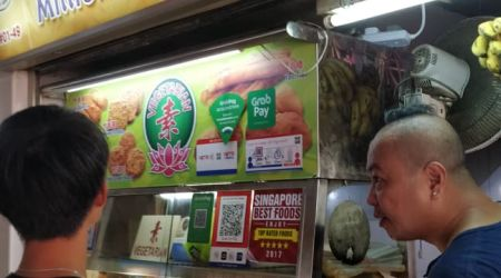 Fried food Hawker Stall