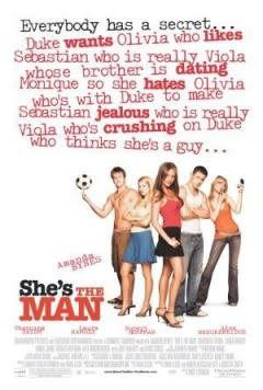 Filmposter van de film She's the Man