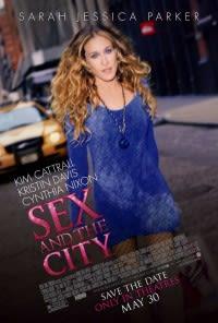 Filmposter van de film Sex and the City