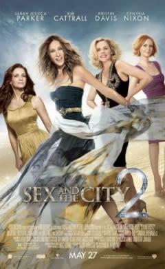 Filmposter van de film Sex and the City 2 (2010)