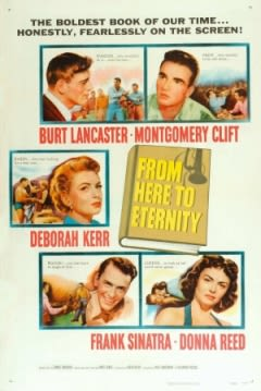 Filmposter van de film From Here to Eternity (1953)