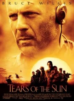Filmposter van de film Tears of the Sun (2003)