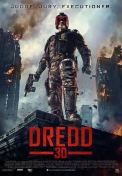 Filmposter van de film Dredd (2012)