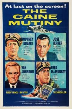 Filmposter van de film The Caine Mutiny (1954)