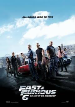 Filmposter van de film Furious 6 (2013)