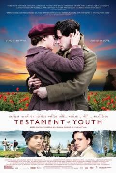 Filmposter van de film Testament of Youth (2014)
