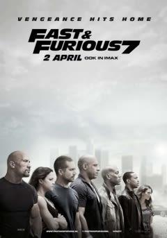 Filmposter van de film Furious 7 (2015)