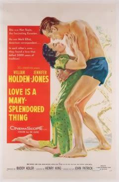 Filmposter van de film Love Is a Many-Splendored Thing (1955)