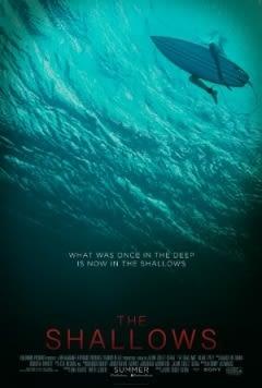 Filmposter van de film The Shallows (2016)