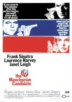 Filmposter van de film The Manchurian Candidate (1962)