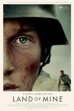 Filmposter van de film Land of Mine (2015)