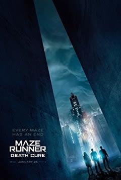 Filmposter van de film Maze Runner: The Death Cure (2018)