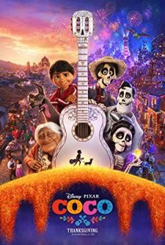 Filmposter van de film Coco