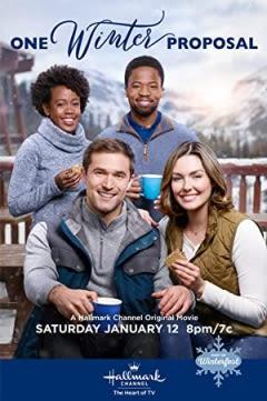 Filmposter van de film One Winter Proposal (2019)