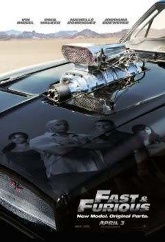 Filmposter van de film Fast & Furious (2009)