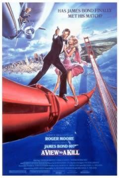 Filmposter van de film A View to a Kill (1985)