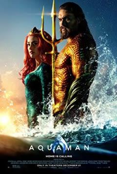 Filmposter van de film Aquaman (2018)