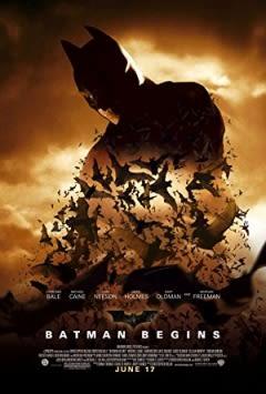 Filmposter van de film Batman Begins (2005)
