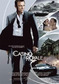 Filmposter van de film Casino Royale (2006)