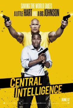 Filmposter van de film Central Intelligence (2016)