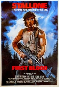 Filmposter van de film First Blood (1982)
