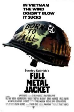 Filmposter van de film Full Metal Jacket (1987)