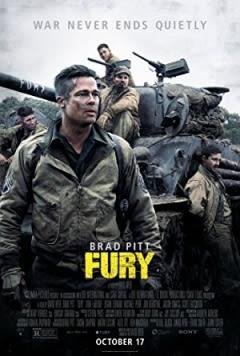 Filmposter van de film Fury (2014)