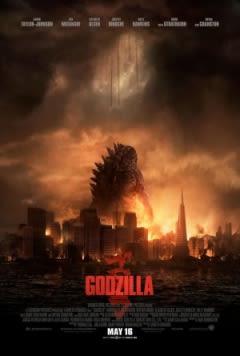 Filmposter van de film Godzilla (2014)