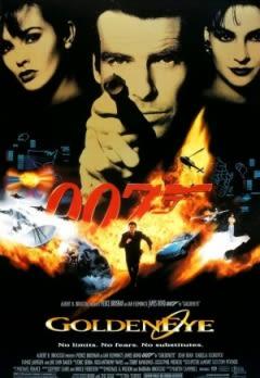 Filmposter van de film GoldenEye (1995)