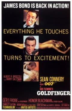 Filmposter van de film Goldfinger (1964)