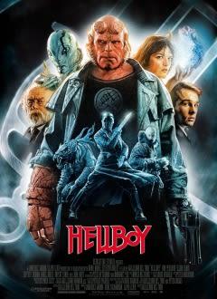 Filmposter van de film Hellboy (2004)
