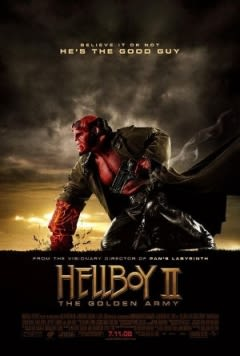 Filmposter van de film Hellboy II: The Golden Army (2008)